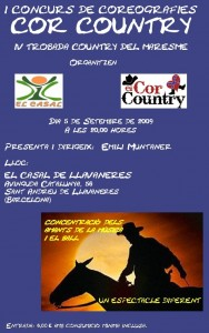 I-CONCURS-COREOGRAFIES-COR-COUNTRY-2009-IV-Trobada-Country-del-Alt-Maresme-cartell